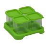 Envases de Vidrio de 120 ml Verde 4 unidades