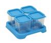 Envases de Vidrio de 120 ml Celeste 4 unidades