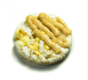 Snack de Galletas Dulces de Arroz, Maiz y Quinoa Sin Azúcar + Sachet de crema de Yogurt, Manzana y Canela 54 grs 4