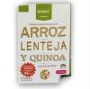 Snack de Galletas Saladas de Arroz, Lentejas y Quinoa Sal de mar 30 grs 1