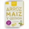 Snack de Galletas Saladas de Arroz, Maiz y Quinoa Sal de mar 30 grs
