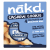 Pack 4 Barras de cereal nakd Cashew Cookie