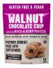 Galletas Superalimentos de Chocolate, Nuez, Maca y Proteina de Cañamo 1