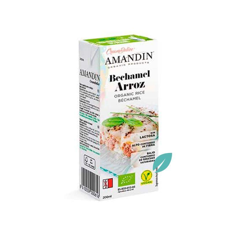 Crema Bechamel Orgánica de Arroz 200 ml