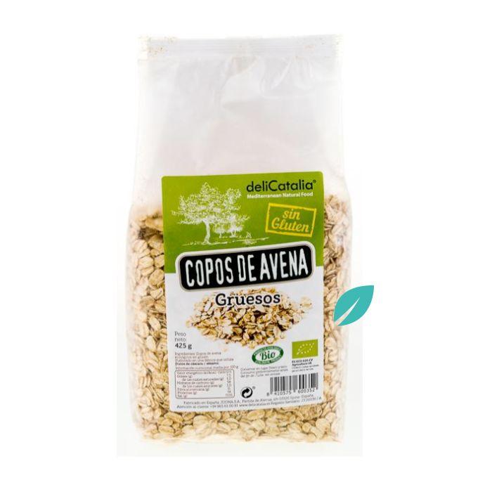 Copos de Avena Sin Gluten Gruesos Orgánicos 435 grs