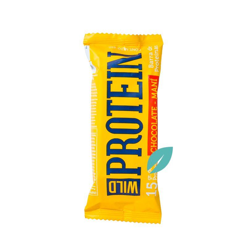 Barra Proteica Wild Protein Chocolate Maní