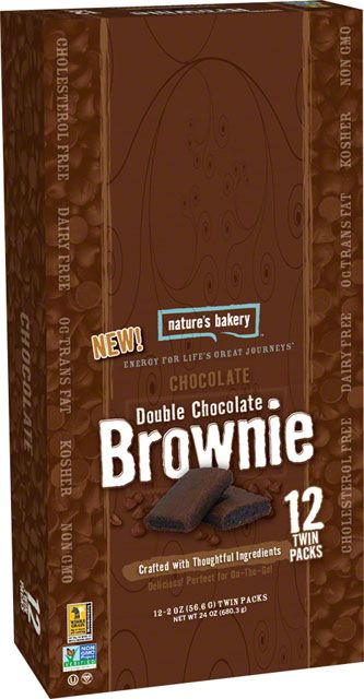 Caja 12 Barras Saludables Brownie doble Chocolate Fig Bar