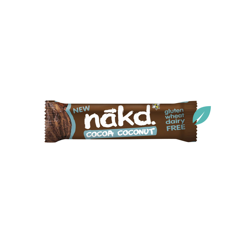 Barra de cereal Nakd Cocoa coconut