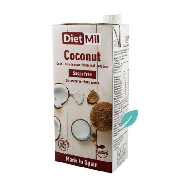 Leche de coco Organica Sin azúcar 1000 cc