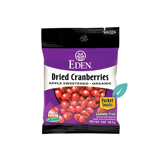 Cranberries Organicos 28 grs
