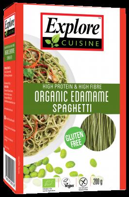 Pasta Spaguetti Edamame Orgánicos Explore Cousine 227 grs