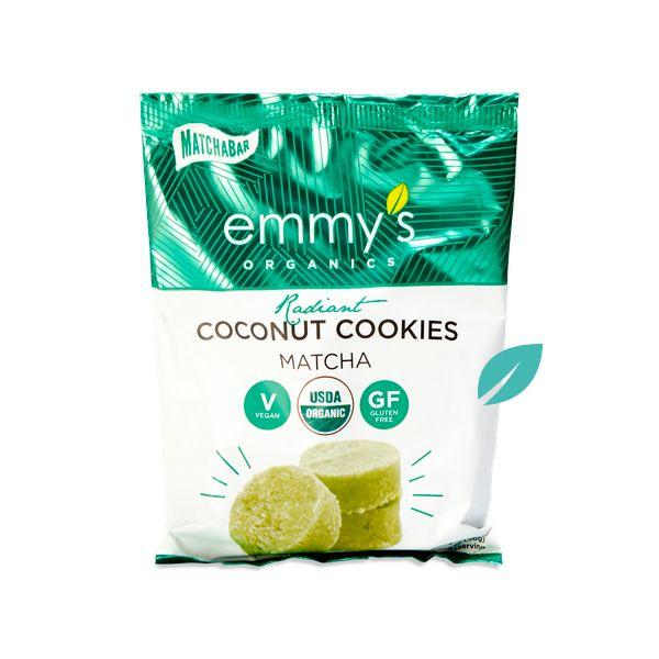 Galletas de Coco Emmys Matcha 56 grs 2x1