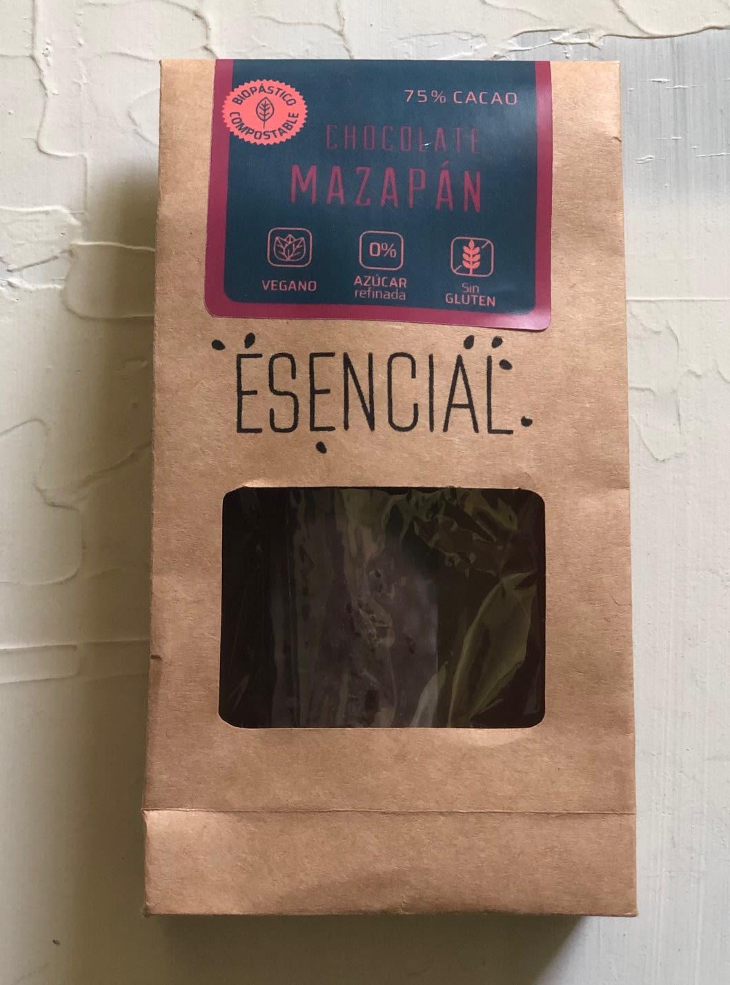 Chocolate 75% Cacao Mazapán