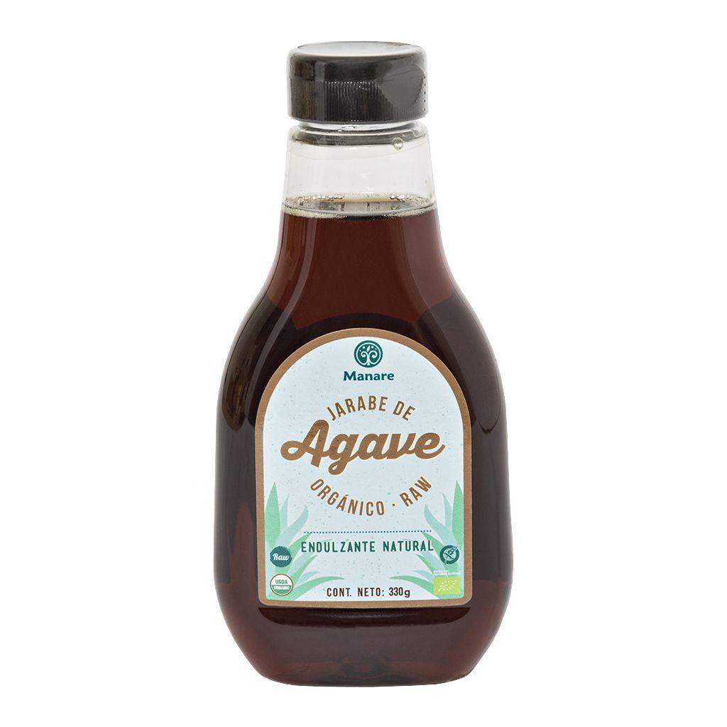 Jarabe de agave organico Raw Manare 330 grs
