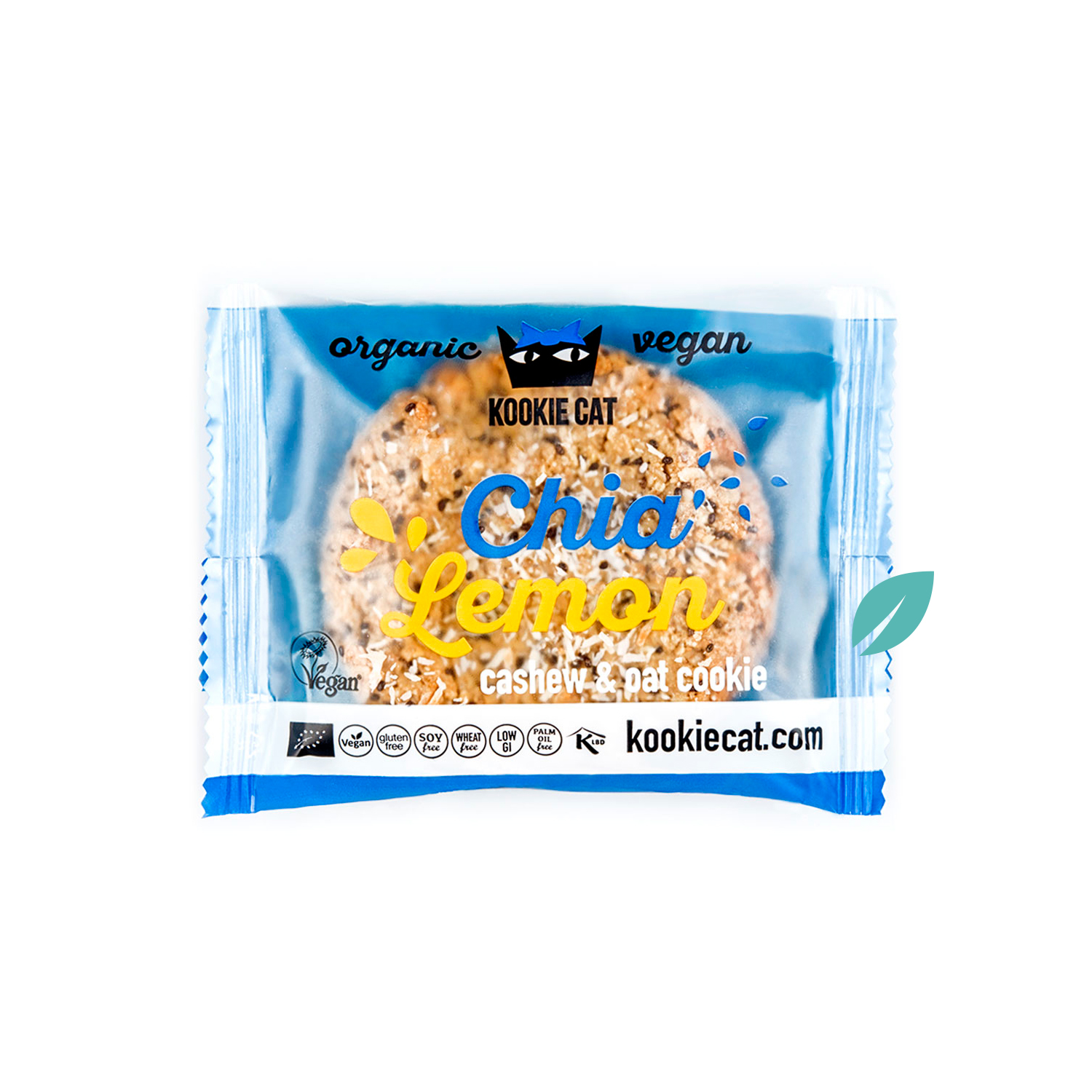 Galleta chia limon sin gluten