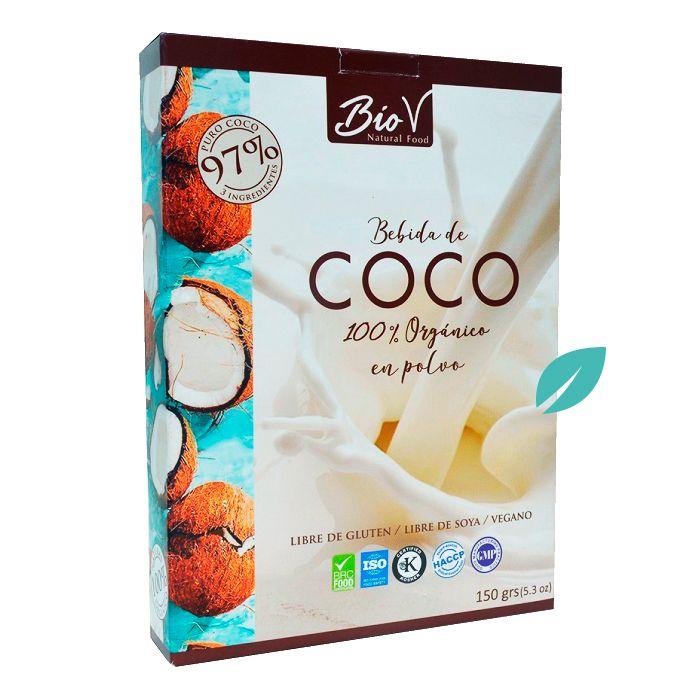 Leche de Coco Organica 150 grs Biov
