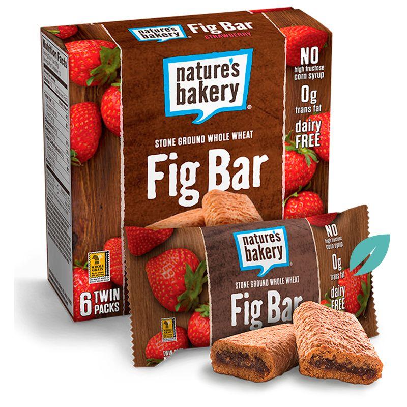 Barra Saludable Frutilla  Fig Bar