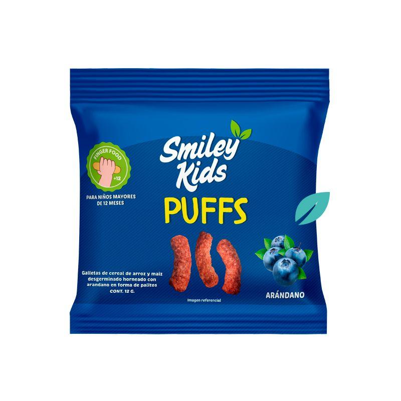 Puffs Arandanos Smileykids