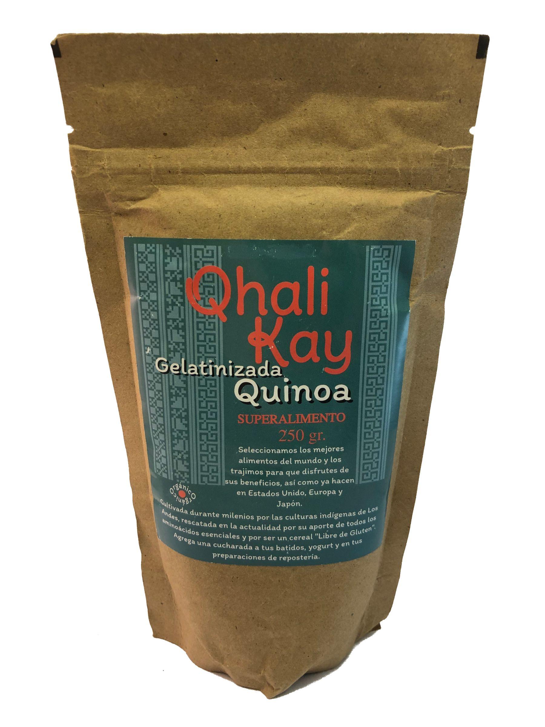 Quinoa gelatinizada 250 grs