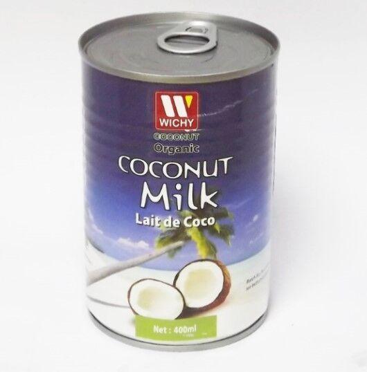 Leche de Coco Orgánica en lata 400 ml