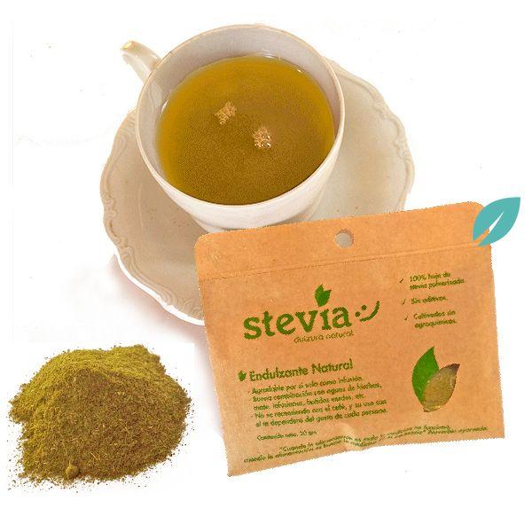 Stevia en hojas