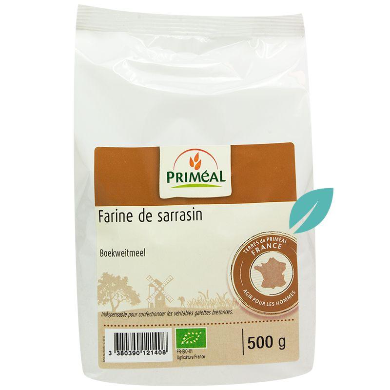 Harina Trigo Sarraceno Organica Sin gluten 500 grs