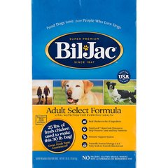 SELECT DOG FOOD BIL-JAC