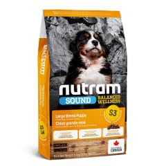 S3 NUTRAM SOUND BALANCED WELLNESS LARGE BREED PUPPY FOOD