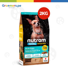 T28 NUTRAM TOTAL GRAIN-FREE SMALL BREED TROUT - SALMON MEAL DOG FOOD