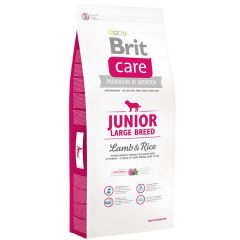 BRIT CARE JUNIOR LARGE LAMB - RICE