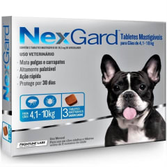 NEXGARD 4,1  - 10 KG