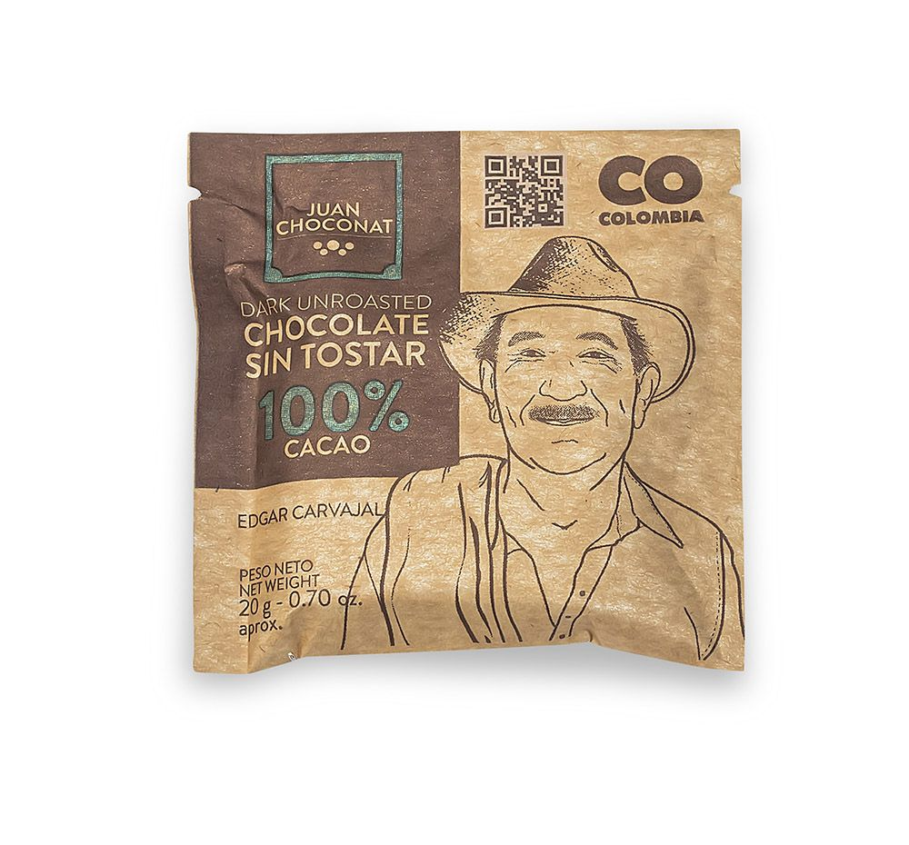 Choconat-100% cacao 20 gramos