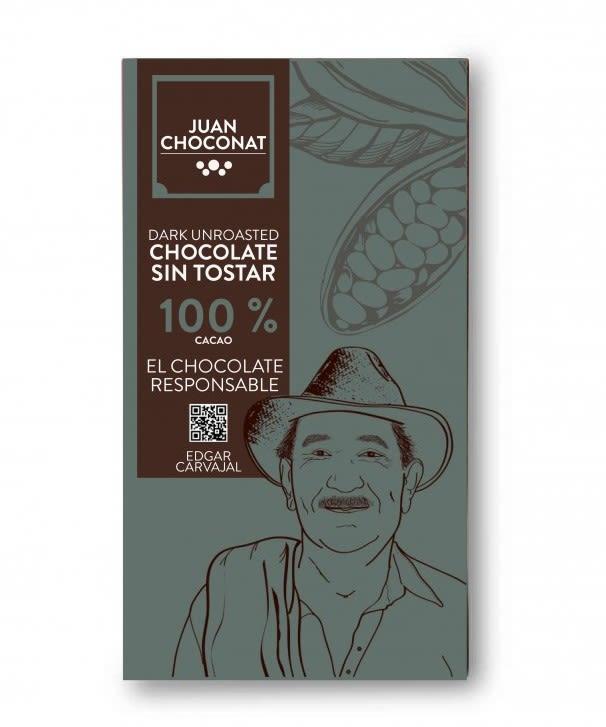 Choconat-100% cacao sin tostar 65 gramos