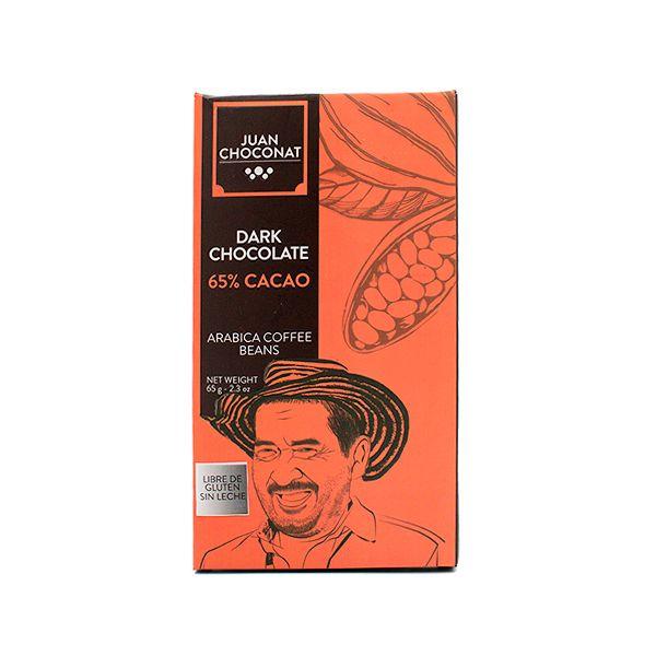 Chocolate 65% Cacao y Café 65