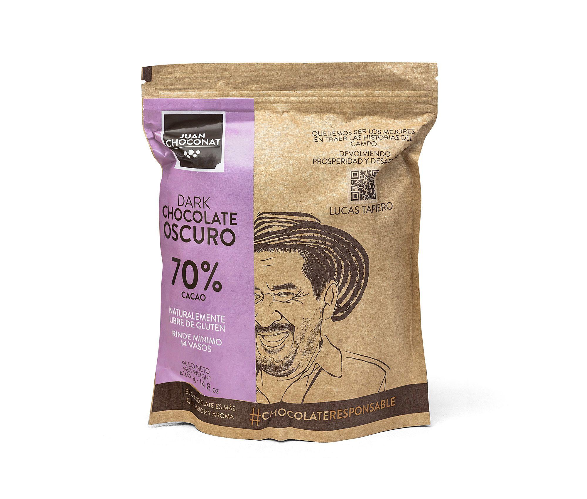 Choconat-70% cacao 420 gramos