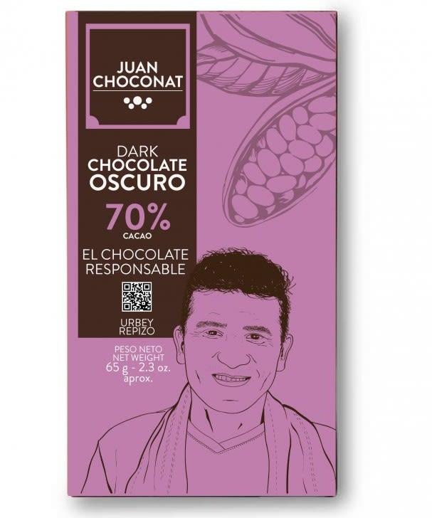 Choconat-70% cacao 65 gramos