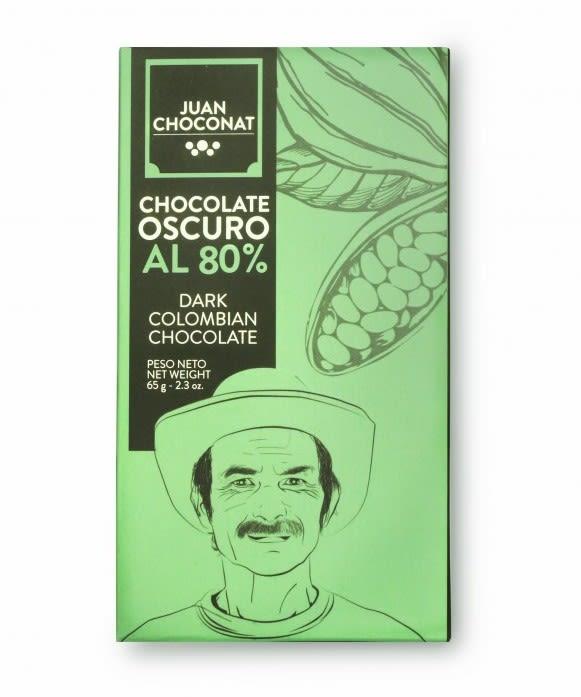 Choconat-80% cacao 65 gramos