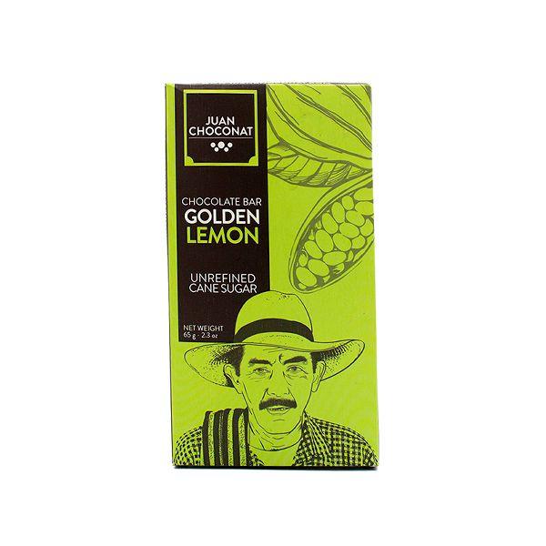 Chocolate Dorado Limón