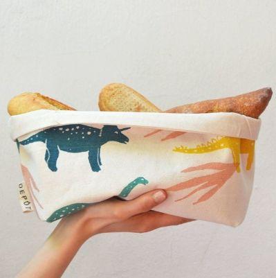 Canasto L Dinosaurios