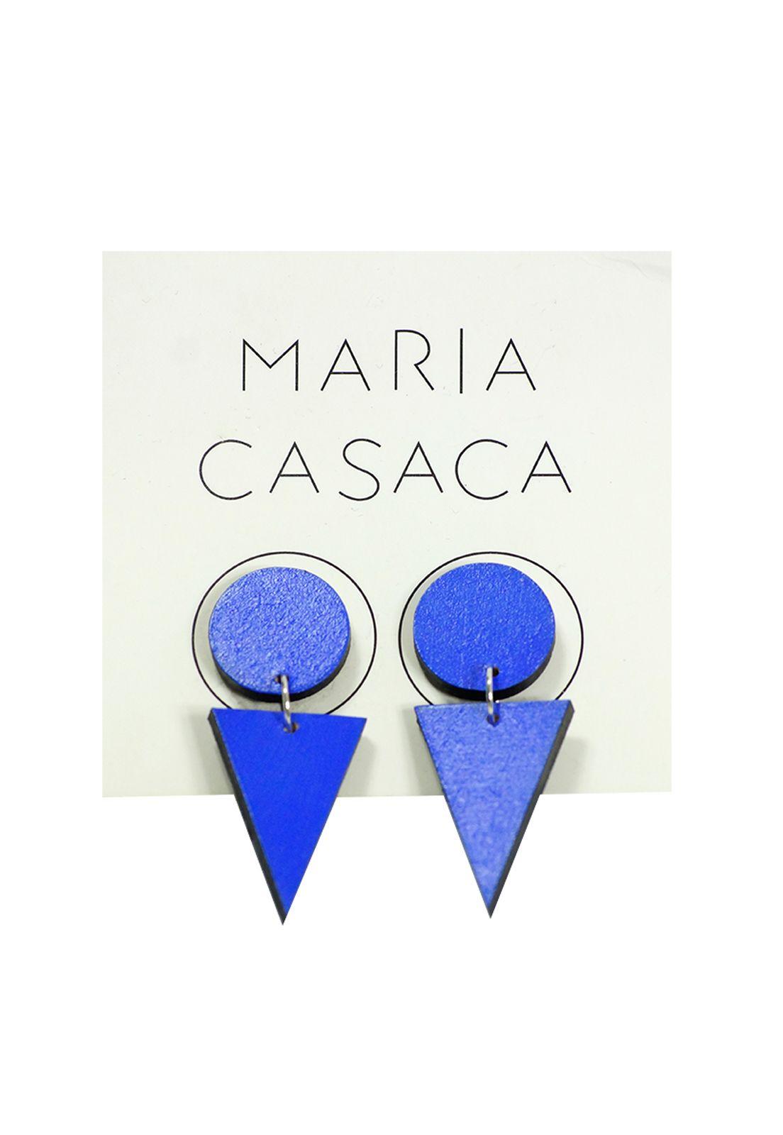 Maria Casaca · Aros dobles azulino