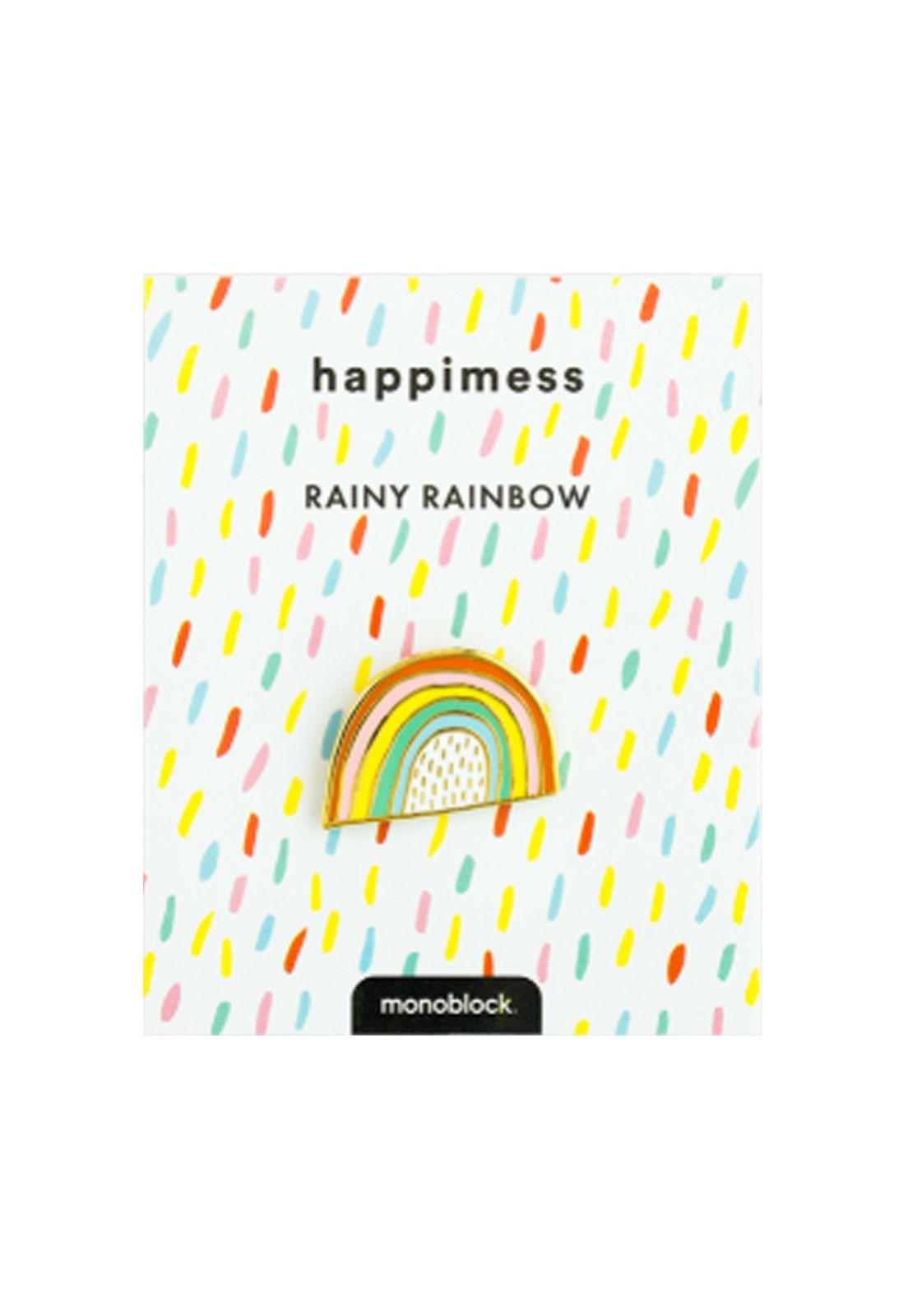 Pin Vintage Rainy Rainbow
