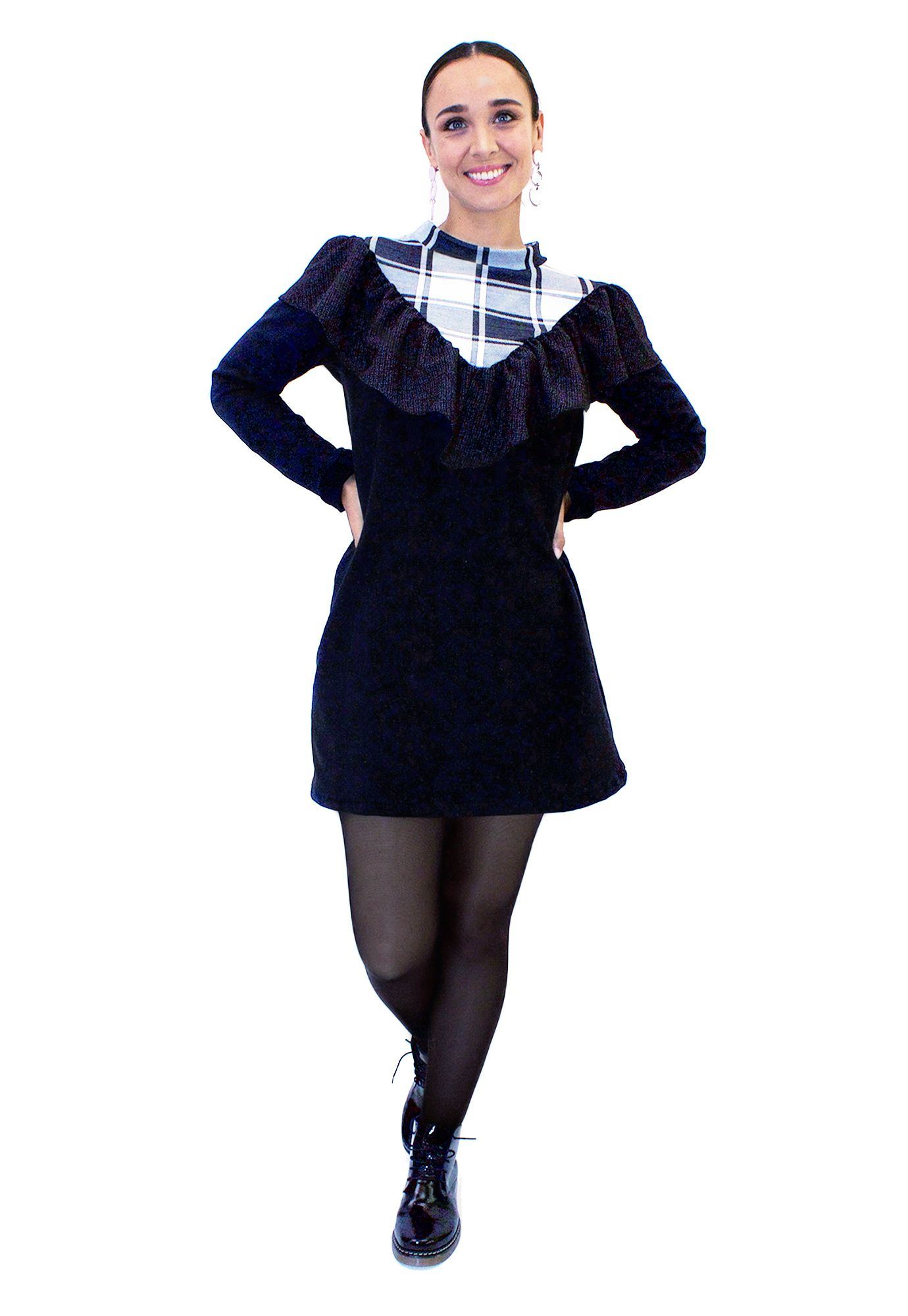 Vestido Poleron Vuelo  - Loreto Correa - Agrupa