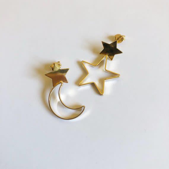 Aros Luna y Estrella