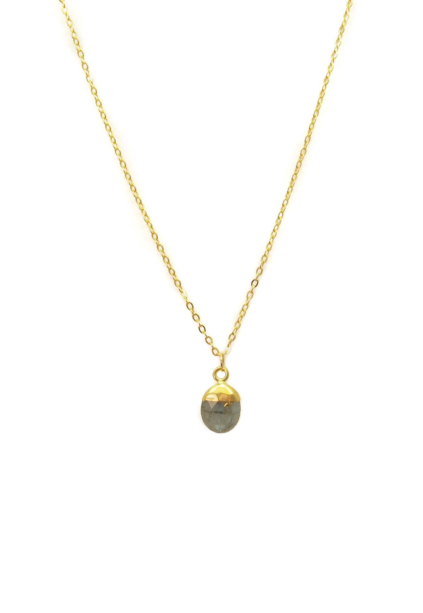 Collar Labradorita - Musa Accesorios