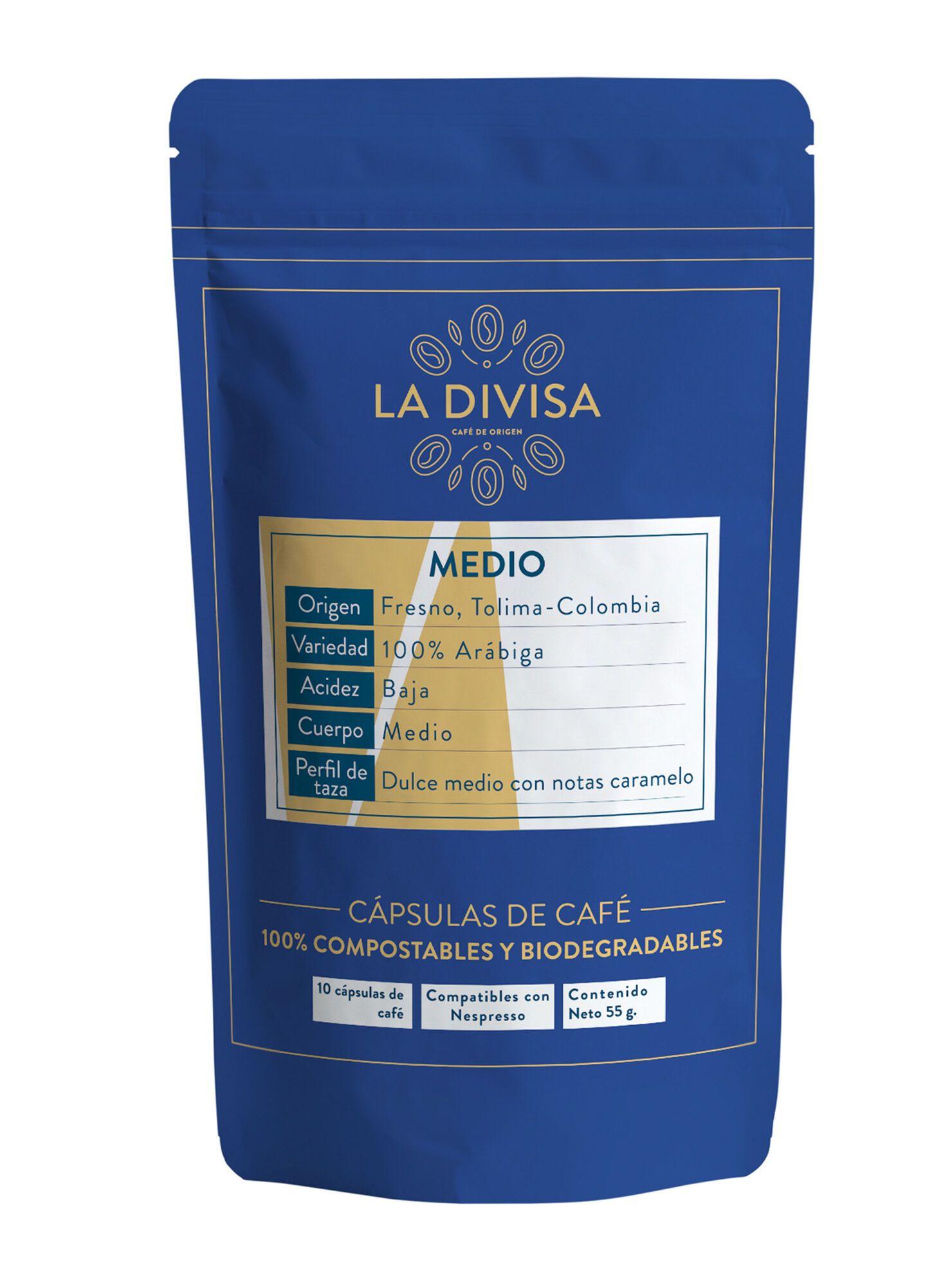 Pack 10 Cápsulas de Café Medio
