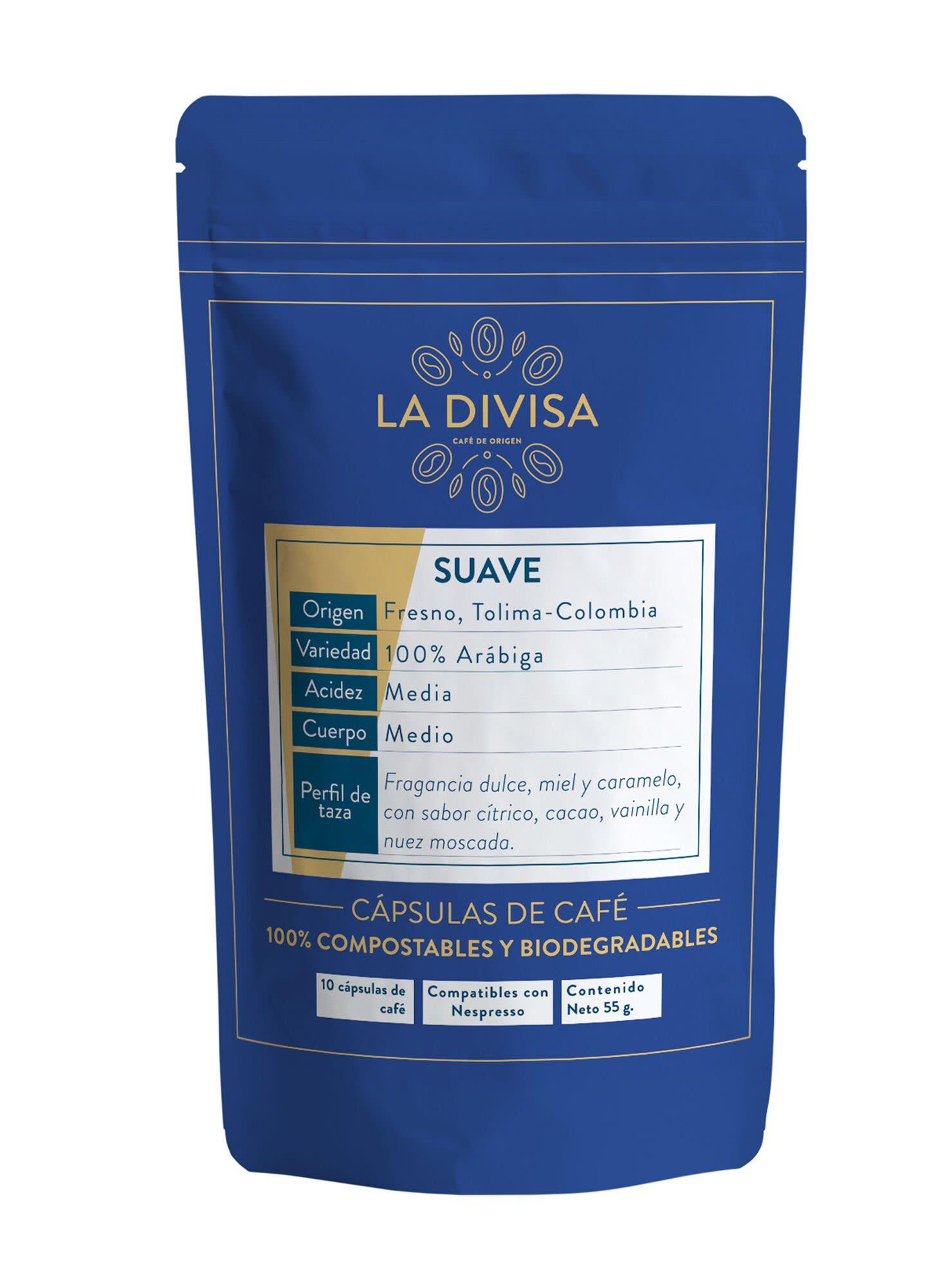 Pack 10 Cápsulas de Café Suave