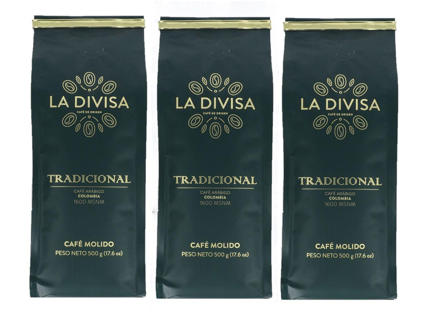 Pack 3 Cafés Molido Tradicional 500 g