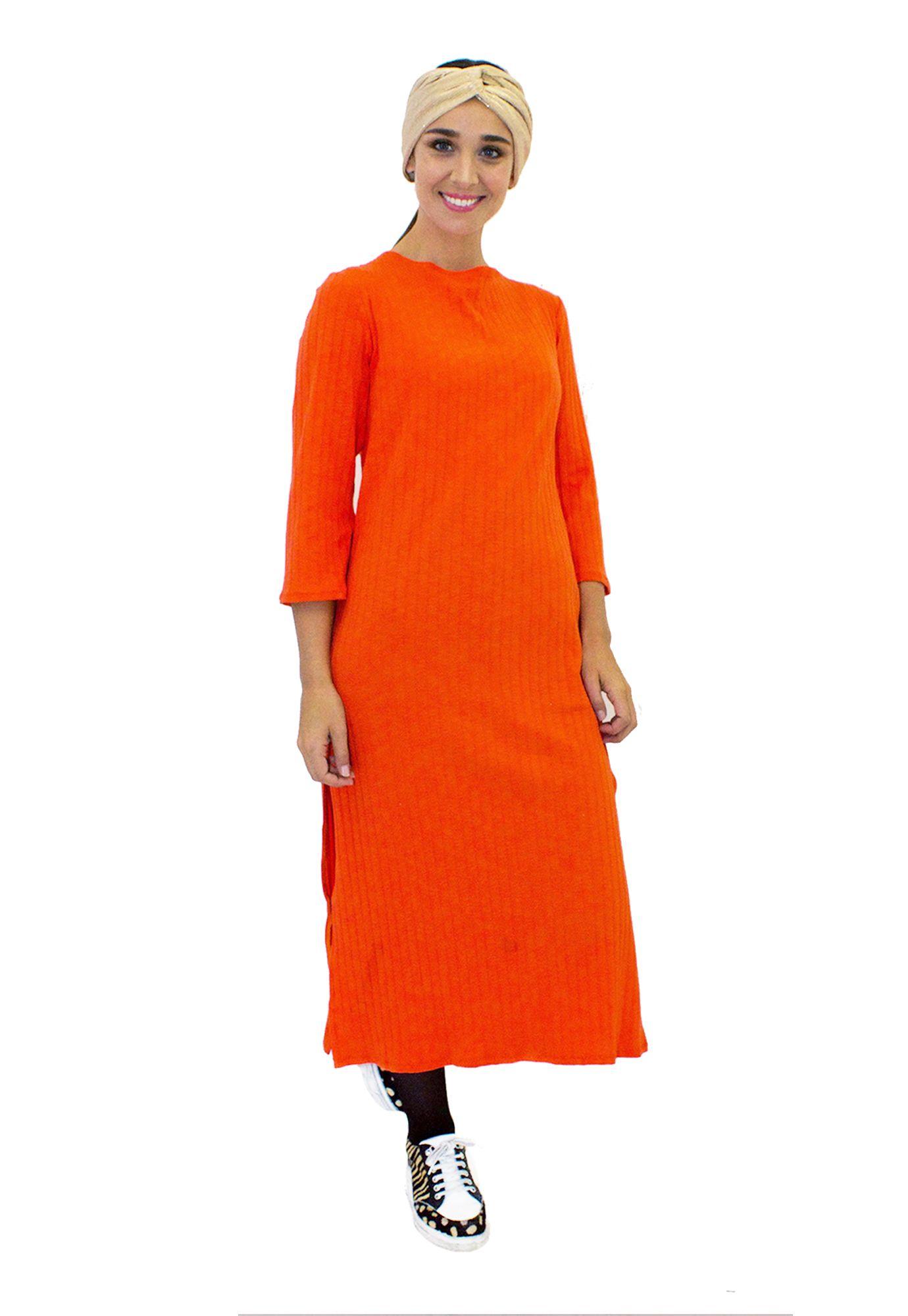 Vestido Basico Rojo  - Loreto Correa - Agrupa