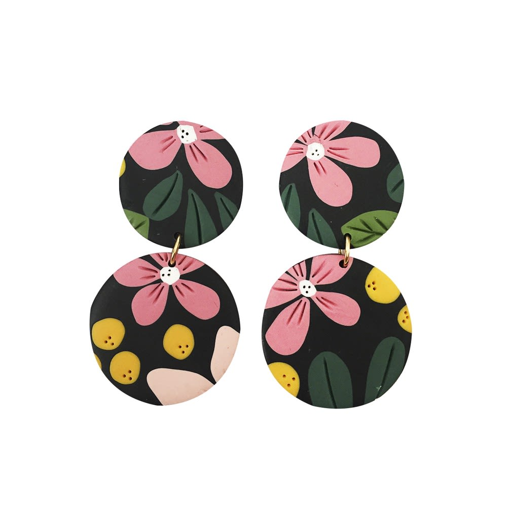 Aro Floral - Marmol Accesorios