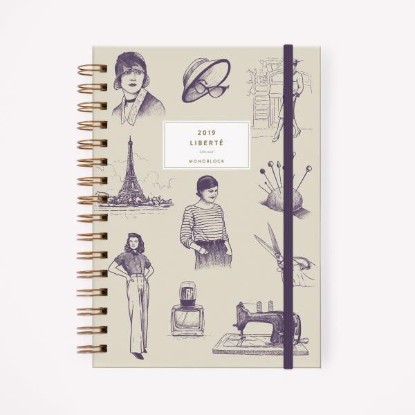 Agenda 2019 A5 Makers Coco Chanel Liberte